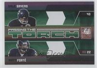 Gale Sayers, Matt Forte /499