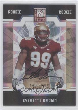 2009 Donruss Elite #135 - Everette Brown /299