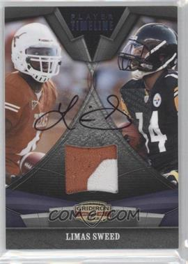 2009 Donruss Gridiron Gear - Player Timeline - Jersey Prime Signatures [Autographed] [Memorabilia] #11 - Limas Sweed /25