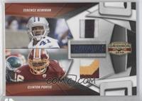 Terence Newman, Clinton Portis /50