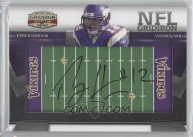2009 Donruss Gridiron Gear NFL Gridiron Rookie Signatures #23 - Percy Harvin /45