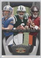 Josh Freeman, Matthew Stafford, Mark Sanchez /25