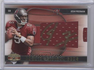 2009 Donruss Gridiron Gear #226 - Josh Freeman /98