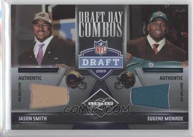 2009 Donruss Limited - [???] #4 - Jason Smith, Eugene Monroe /10