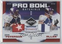 Adrian Peterson, Jared Allen /25