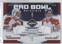 Peyton Manning, Jay Cutler /100
