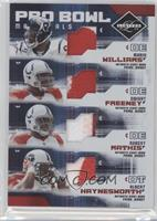 Dwight Freeney, Mario Williams, Robert Mathis, Albert Haynesworth /25