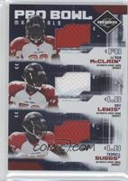 Le'Ron McClain, Ray Lewis, Terrell Suggs /100