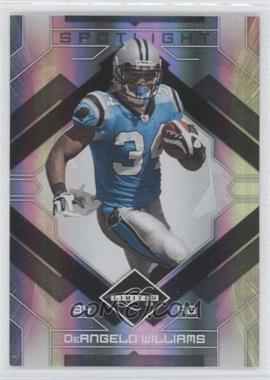 2009 Donruss Limited Silver Spotlight #14 - DeAngelo Williams /10