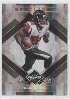 2009 Donruss Limited Silver Spotlight #6 - Roddy White /10