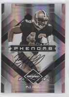 Phenoms Autographs - P.J. Hill /399