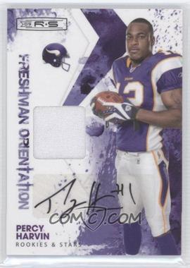 2009 Donruss Rookies & Stars - Freshman Orientation Materials - Signatures [Autographed] #25 - Percy Harvin /100