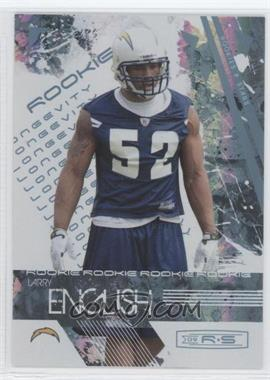 2009 Donruss Rookies & Stars Longevity Parallel Platinum #172 - Larry English /25