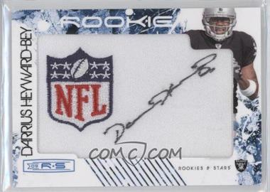 2009 Donruss Rookies & Stars Rookies Blue NFL Shield Patch Signatures [Autographed] #206 - Darrius Heyward-Bey /10