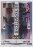 Earl Campbell, Chris Johnson /100