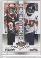 Andre Johnson, Chad Ochocinco /100