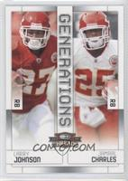 Jamaal Charles, Larry Johnson