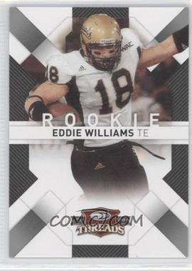 2009 Donruss Threads Retail Rookies #136 - Eddie Williams /999