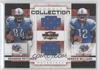 Derrick Williams, Brandon Pettigrew /500