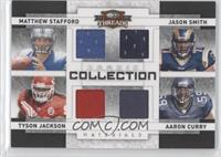 Aaron Curry, Jason Smith, Matthew Stafford, Tyson Jackson /100