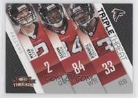 Matt Ryan, Roddy White, Michael Turner