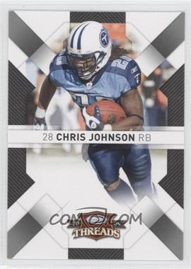 2009 Donruss Threads #95 - Chris Johnson