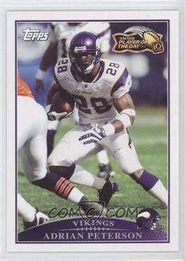 2009 NFL Player of the Day #POD-2 - Adrian Peterson