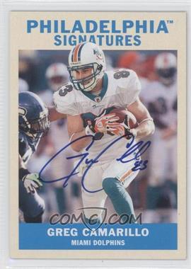 2009 Philadelphia Signatures #PS-GC - Greg Camarillo
