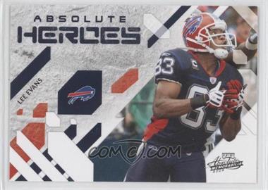 2009 Playoff Absolute Memorabilia - Absolute Heroes #15 - Lee Evans