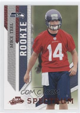 2009 Playoff Absolute Memorabilia - [Base] - Spectrum Red #172 - Mike Teel