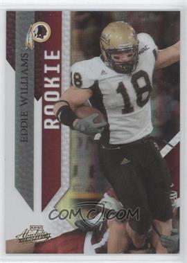2009 Playoff Absolute Memorabilia - [Base] #139 - Eddie Williams /499