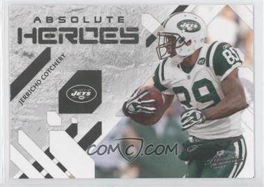 2009 Playoff Absolute Memorabilia Absolute Heroes #12 - Jerricho Cotchery