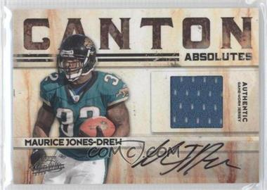 2009 Playoff Absolute Memorabilia Canton Absolutes Materials Signatures [Autographed] [Memorabilia] #18 - Maurice Jones-Drew /10