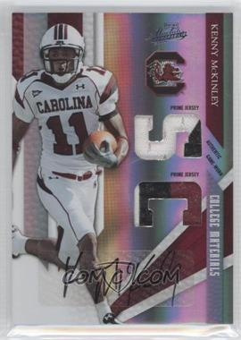 2009 Playoff Absolute Memorabilia College Materials Spectrum Prime Signatures [Autographed] #13 - Kenny McKinley /10