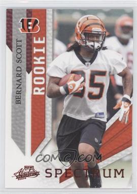 2009 Playoff Absolute Memorabilia Spectrum Red #111 - Bernard Scott