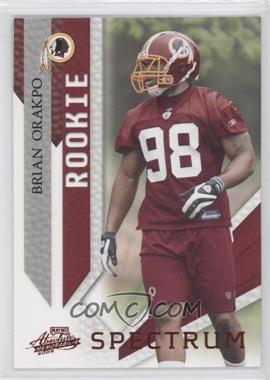 2009 Playoff Absolute Memorabilia Spectrum Red #115 - Brian Orakpo