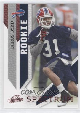 2009 Playoff Absolute Memorabilia Spectrum Red #145 - Jairus Byrd