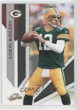 2009 Playoff Absolute Memorabilia Spectrum Red #35 - Aaron Rodgers