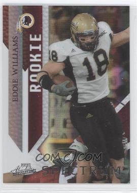 2009 Playoff Absolute Memorabilia Spectrum Silver #139 - Eddie Williams /25