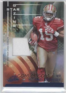 2009 Playoff Absolute Memorabilia Star Gazing Materials Prime [Memorabilia] #34 - Michael Crabtree /50