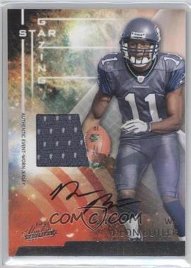 2009 Playoff Absolute Memorabilia Star Gazing Materials Signatures [Autographed] [Memorabilia] #12 - Deon Butler /25