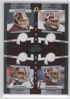 Chris Cooley, Santana Moss, Clinton Portis, Jason Campbell /100