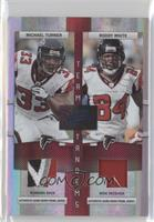 Michael Turner, Roddy White /25
