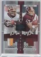 Clinton Portis, Chris Cooley /25