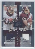 Chris Cooley, Clinton Portis /50