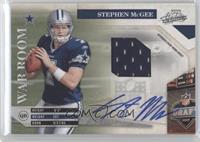 Stephen McGee /25