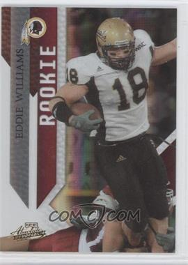 2009 Playoff Absolute Memorabilia #139 - Eddie Williams /499