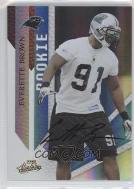 2009 Playoff Absolute Memorabilia #142 - Everette Brown /149