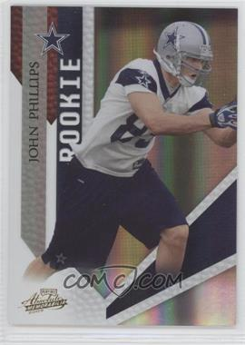 2009 Playoff Absolute Memorabilia #155 - John Phillips /499