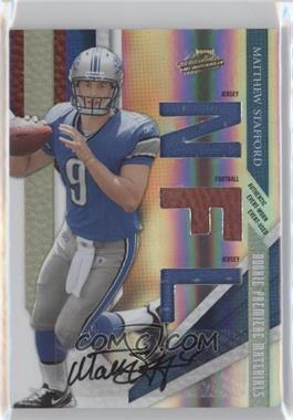 2009 Playoff Absolute Memorabilia #201 - Matthew Stafford /299